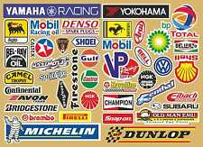 RC Radio Control Model Car Stickers Decals pro printed on premium vinyl pre cut