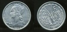 AFRIQUE OCCIDENTALE FRANCAISE   2  francs   1948 ( 1 ) ( bis )