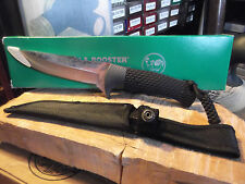 "HEN & ROOSTER 11 1/2"" OVERALL MODEL #HR-5055 FIXED BLADE KNIFE GERMAN 1095 S.S."