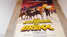 LES GUERRIERS DU BRONX  bronx warriors   ! affiche cinema