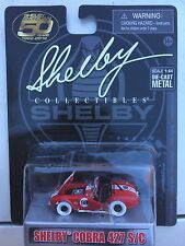 SHELBY COLLECTIBLES 1/64 SHELBY COBRA 427 S/C CHASE VERSION HTF!