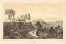 Rio de Janeiro, Original-Lithographie von 1864