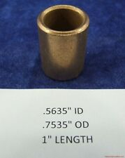 "Bronze Bearing Bushing Sleeve 9/16 ""ID x3/4"" OD x 1"" Length"