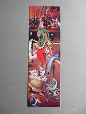 Bookmark WOLFGANG GRASSE Festival of Fools German Painter Painting UNUSED