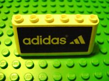 LEGO SPORTS SOCCER WHITE PANEL WINDSHIELD ADIDAS AD SIGN LOGO FENCE FIELD