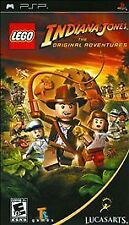 LEGO Indiana Jones: The Original Adventures Sony PSP Game UMD Complete CIB