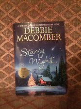 SIGNED by Debbie Macomber Starry Night - A Christmas Novel 1st Printing