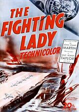 The Fighting Lady (1944) (DVD) Robert Taylor (Academy Award Winning WWII Doc)