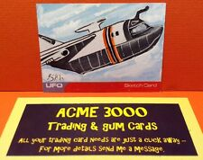 Gerry Anderson UFO Unstoppable - Steve Burch Sketch Trading Card SK1 TRANSPORTER