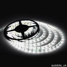 12v 5M WHITE LED SMD STRIP ROPE RIBBON BRIGHT LIGHT WATERPROOF GARAGE KITCHEN