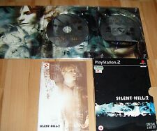 Silent Hill 2 - 2 disc special edition PS2 (Sony PlayStation 2, 2001)