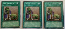 3x YUGIOH Upstart Goblin DLG1-EN057 mint Look never played playset L@@K