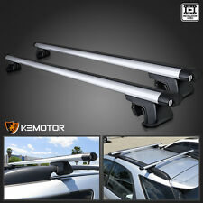 "48"" Aluminum Auto SUV Car Roof Top Cross Bars Luggage Cargo Rack Pair"