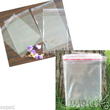 400 PCS 4x6cm Packaging Poly Self Adhesive bags Plastic OPP Clear Seal Pack