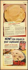 1950 Vintage ad for Ten-B-Low/Ice Cream in a can (030713)