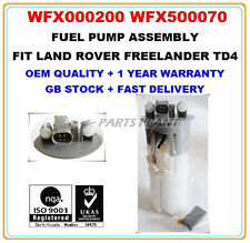 LAND ROVER FREELANDER 2.0 TD4 INTANK FUEL PUMP ASSEMBLY WFX000200 WFX500070