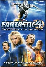 Fantastic 4:  Rise of the Silver Surfer    Movie DVD  (Marvel)