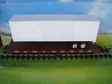 USA Trains Flatcar & Long Moving Van Trailer & Choice of 4 Roadnames NEW