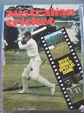 Australian Cricket Magazine March 1973 West Indies special