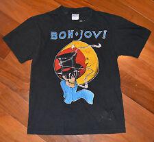 RaRe *1986 BON JOVI* vintage concert tour t-shirt (S/M) 80s Glam Rock Hair Metal