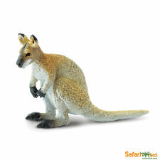 Wallaby 9 cm Serie Animale selvaggio Safari Ltd 224929 novità 2016