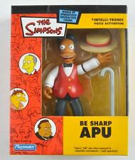 PLAYMATES 2003 THE SIMPSONS BE SHARP APU INTERACTIVE FIGURE THAT TALKS MIB