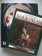 2 Bücher Volksmusik Alpenländische Bauernkunst Alpenland