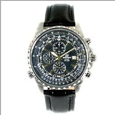 Casio Edifice EF-527L-1AVEF Chrono Leder Herrenuhr