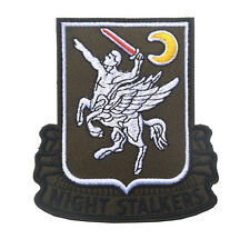 SEAL TEAM Patches Operation 160th SOAR NIGHT STALKERS Embroidery HOOK Patch L806