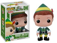 FUNKO POP HOLIDAYS ELF THE MOVIE BUDDY THE ELF 10  RETIRED Vinyl Figure In Stock