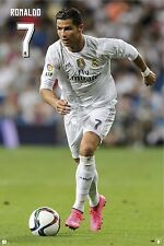 RONALDO - REAL MADRID POSTER - 24x36 FOOTBALL SOCCER 34106