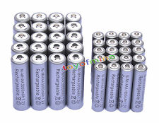 20x AA 3000mAh + 20x AAA 1800mAh 1.2V NI-MH Rechargeable Battery 2A 3A Cell