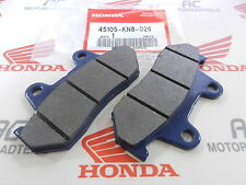 Honda CM 400 C A Front Brake Pad Set Genuine New 06455-KN8-405