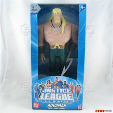 Justice League Unlimited Aquaman 10 inch vinyl figure DC JLU light blue box