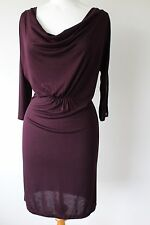 WHISTLES LADIES LOVELY COWL NECK DRESS ZIP SLEEVE DETAIL SIZE 1 (8)