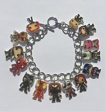 Bucky Barnes Bracelet Iron Man Captain America and  More Charms
