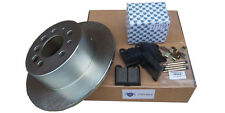 Volvo 740, 240 Rear Brake pads rotors and hardware kit for complete job