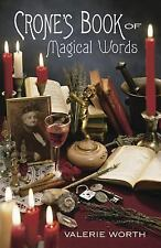 Crone's Book of Magical Words, Valerie Worth, Good Book