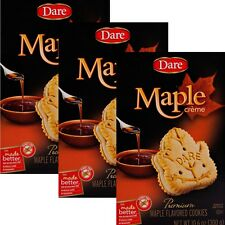 Dare Maple Creme Cookies 3 /10.2 oz Boxes