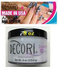 8 oz Professional Acrylic Adoro decori SNOW WHITE Acrylic Powder like mia secret