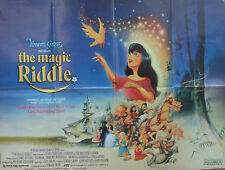 THE MAGIC RIDDLE Hans Andersen Brothers Grimm (1991)  Original movie poster