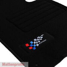 Velours Logo Fußmatten Autoteppiche 4-teilig für BMW X3 E83 ab Bj.2004 - 2012