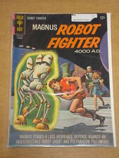 MAGNUS ROBOT FIGHTER #9 VG (4.0) GOLD KEY COMICS FEBRUARY 1965 (A)
