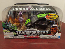 TRANSFORMERS DOTM MechTech HUMAN ALLIANCE SKIDS, ELITA-1 & SGT EPPS NIB