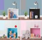 Wood Wooden Wall Cube Shelf Storage Display Unit Cubes Book Shelves Kids Bedroom