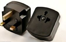 Plug Adapter - US EU To UK Ireland UAE 3 Prong Plug Adaptor Type G