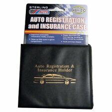 3 Auto Car Truck Registration And Insurance Case Document Holder Wallet Folders