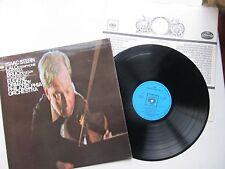"""Isaac Stern Lalo Symp. Espagnole & Bruch Violin Conc. No 1 12"""" Lp CBS72612 GB"""