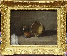 Fine 18th Century French Master Kitchen Interior Still Life Oil Painting CHARDIN