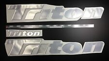 "Triton boat Emblem 26"" Epoxy Stickers Resistant to mechanical shocks Vinyl"